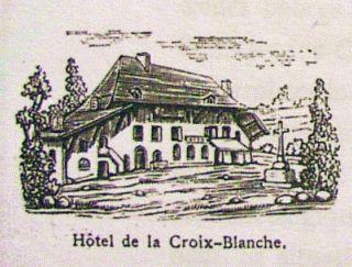 La Croix-Blanche à Châteauneuf