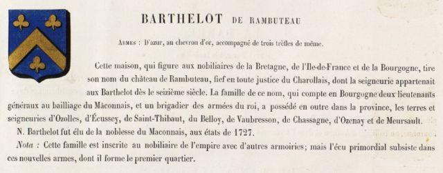 Barthelot de Rambuteau