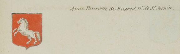 Anne Henriette de Busseuil dame de Saint-Sernin (Vauban)