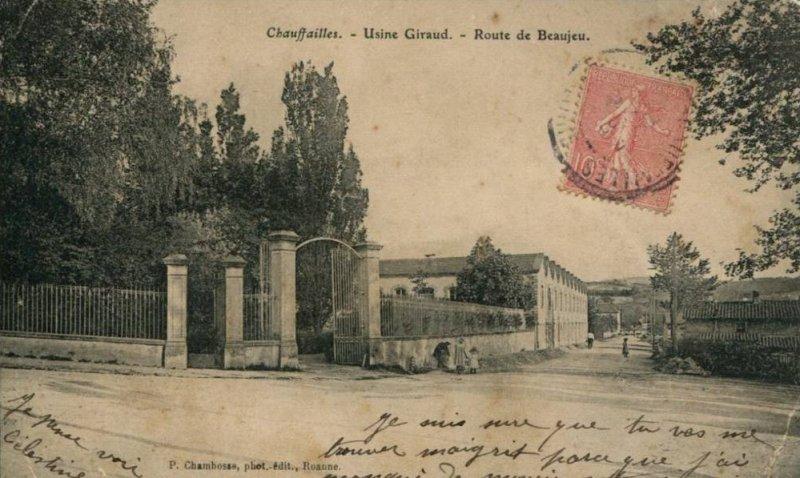 Cartes postales anciennes de Chauffailles
