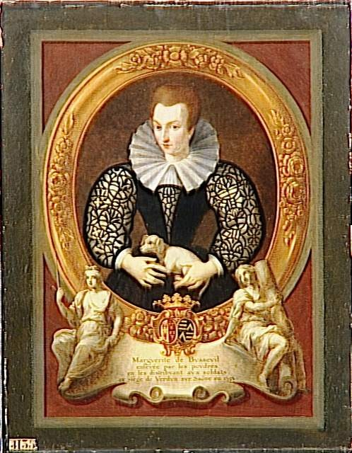 Portrait de Marguerite de Busseul