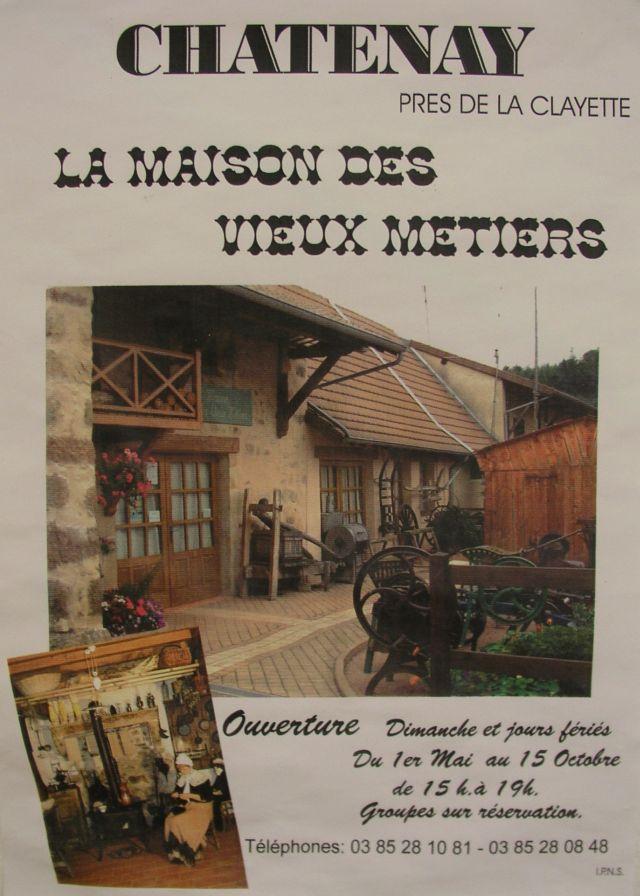 Maison des vieux métiers de Châtenay