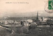 Vue générale du bourg de Coublanc