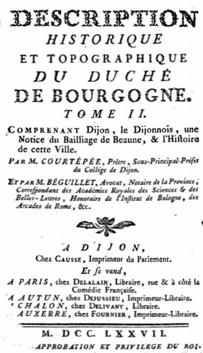 Tome II (1777)