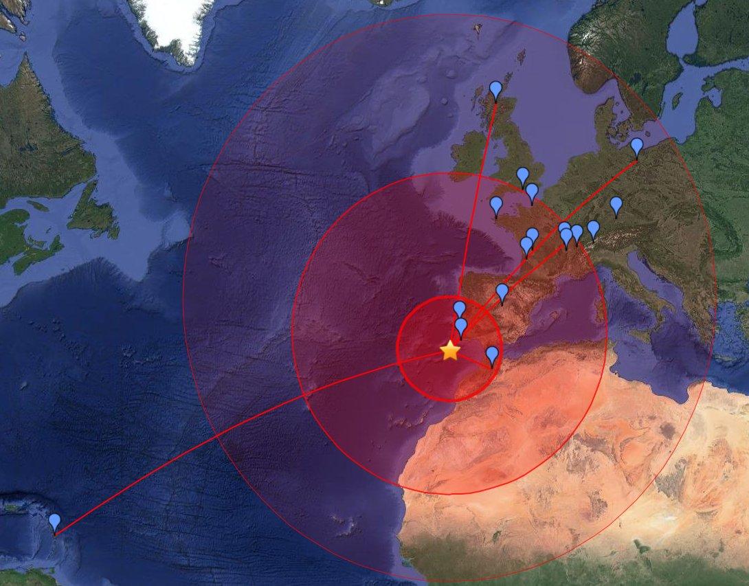 Le grand tremblement de terre de Lisbonne
