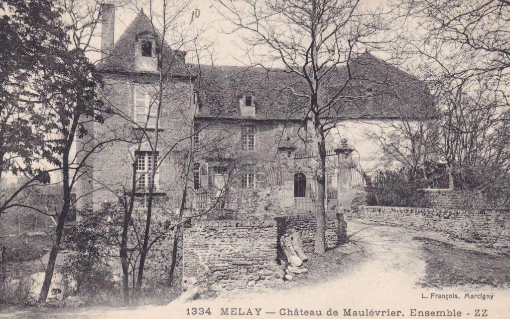 Le château de Maulevrier à Melay (71)
