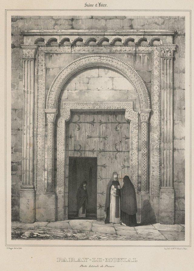 Porte latérale du prieuré
