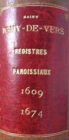 Le premier registre paroissial de Saint-Igny-de-Vers (69)