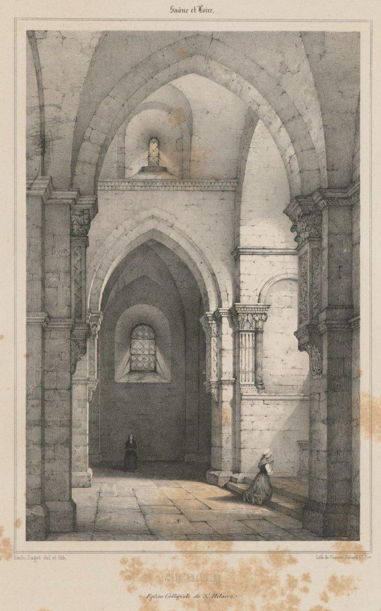Église collégiale de Saint-Hilaire