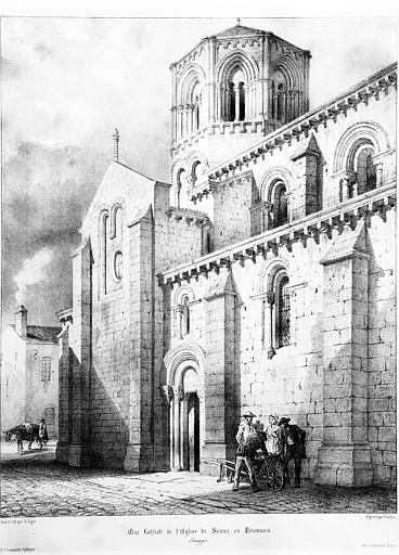 Eglise Saint Hilaire, Semur-en-Brionnais