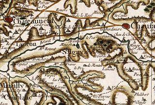 Carte de Saint-Igny-de-Roche