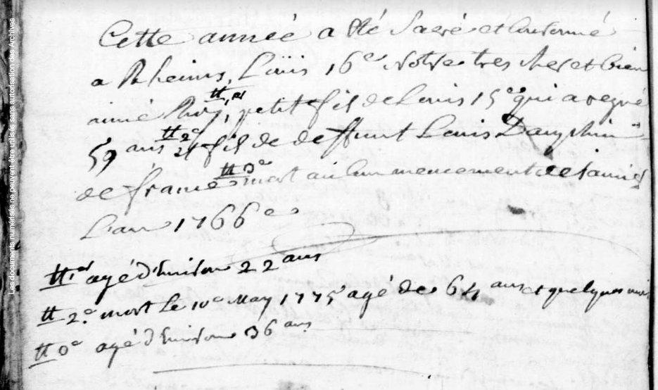 Vareilles 1775