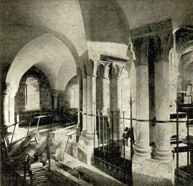 Déambulatoire de l'église de Bois-Ste-Marie