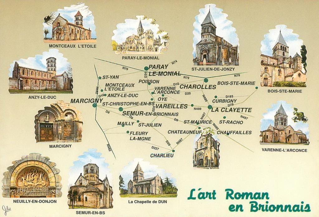 L'art roman en Brionnais