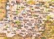 Carte du Brionnais - almanach PTT