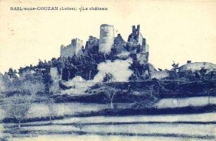 Sail-sous-Couzan, le château