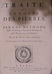 Traité de la coupe des pierres par J.-B. de la Rue