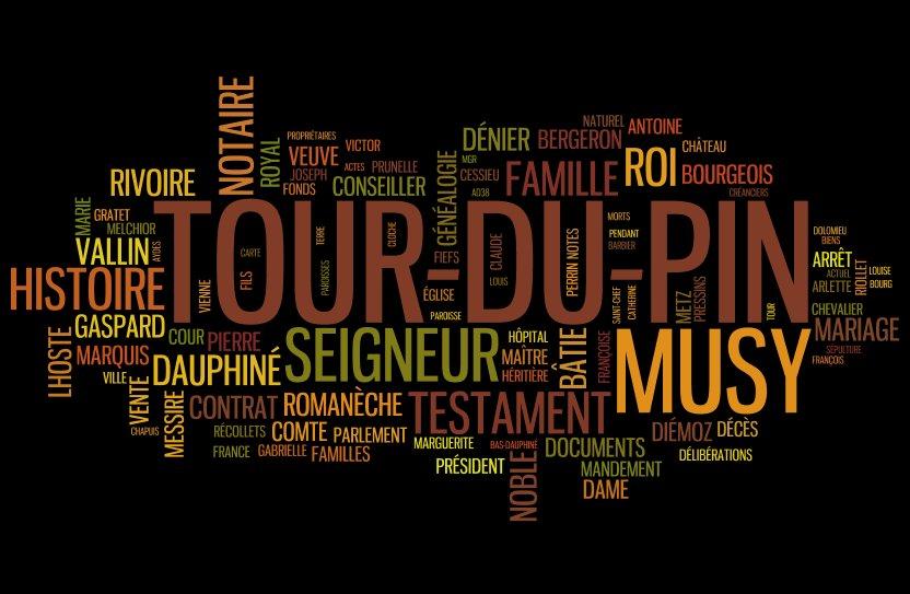Documents sur La Tour-du-Pin, mots-clés