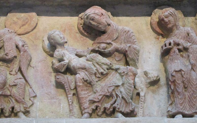 Tympan d'Anzy-le-Duc, musée du Hiéron
