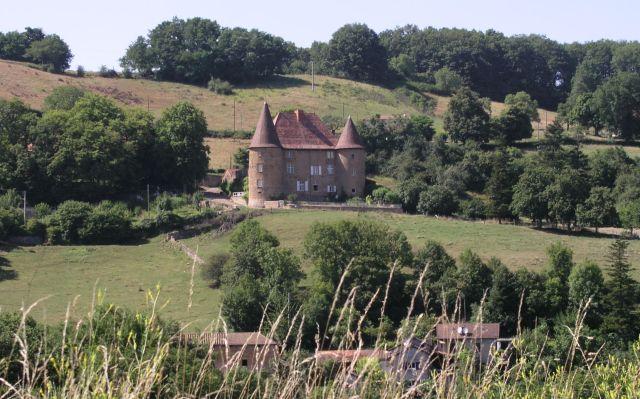 Château de Barnay à St-Martin-de-Lixy