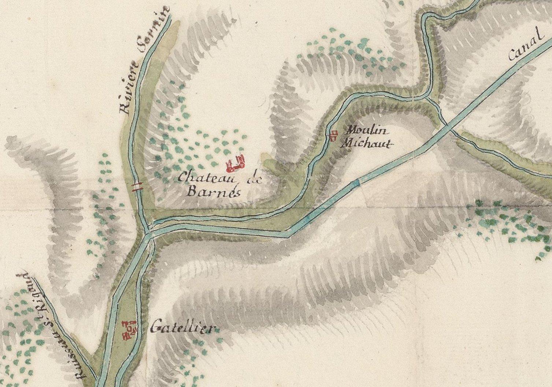 Barnay en 1741