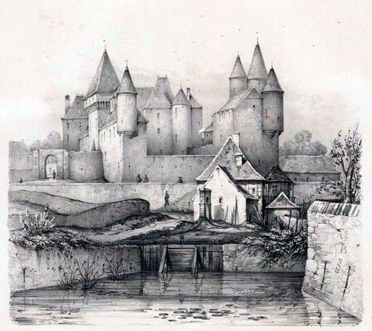 Voyage pittoresque en Bourgogne - 1833